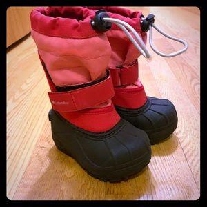 Toddler girls Columbia waterproof boots